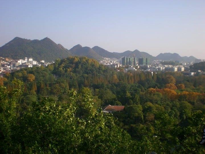 Saubere Luft in den Bergen von Guizhou