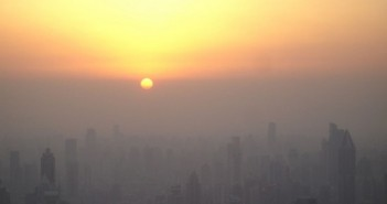 20140219 -Shanghaiairpollutionsunset pic
