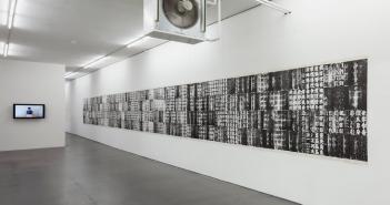 Yang Xingguang, Line (2012), Videoperformance, © Henning Rogge / Deichtorhallen Hamburg