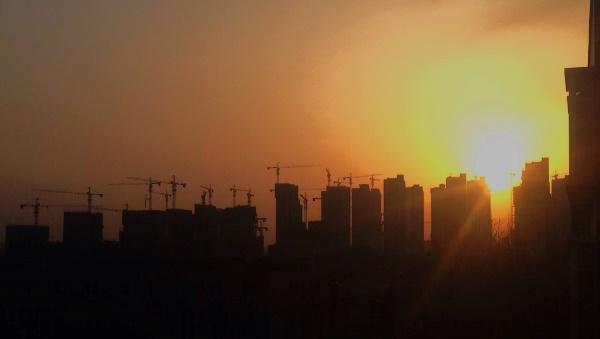 Zhengzhou wächst und wächst © Moritz Roemer