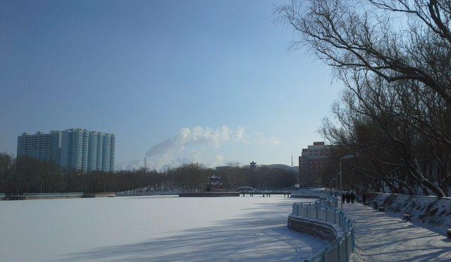 Campus der Xinjiang-Universität