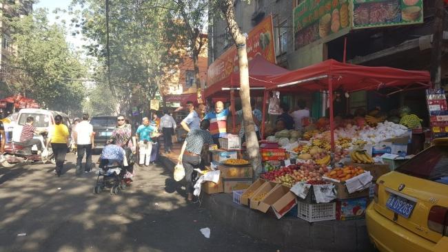 Markt in Urumqi