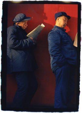 Mo Yi Red, 1985 C-Print (2017), 60 × 87 cm © Mo Yi